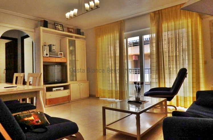 Lounge, spacious appartment in Torrevieja, La Mata, Costa Alicante