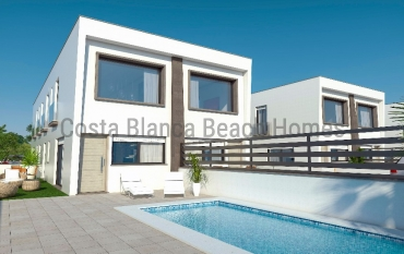 Semi-detached house - New Construction - Santa Pola - Gran Alacant